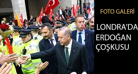 Londra'da Erdoğan coşkusu