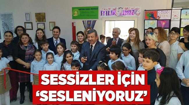 SESSİZLER İÇİN 'SESLENİYORUZ'