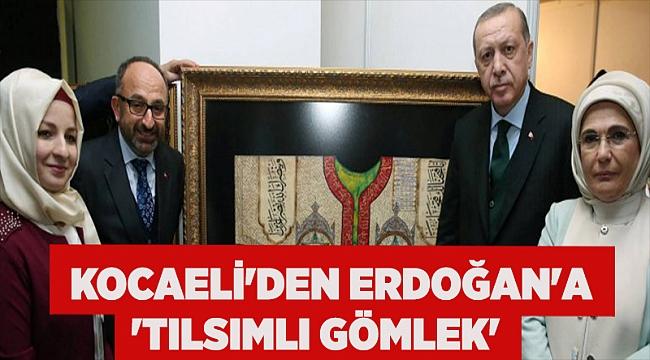 Kocaeli'den Erdoğan'a 'Tılsımlı Gömlek'