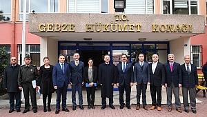 Vali Aksoy Gebze  kaymakamlığı  ziyaret etti