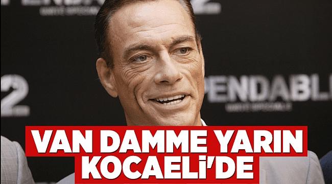 Van Damme yarın Kocaeli'de