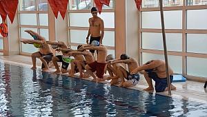 Darıca'da havuzlara yoğun ilgi