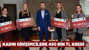 Kadın girişimcilere 450 bin TL kredi