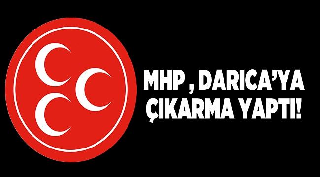 MHP, Darıca'ya çıkarma yaptı!