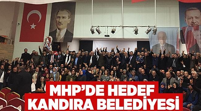 MHP'de hedef Kandıra Belediyesi