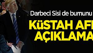 Darbeci Sisi de burnunu soktu! Küstah 'Afrin' açıklaması