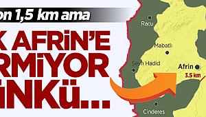 TSK Afrin'e girmiyor çünkü sivillerin çıkışını bekliyor