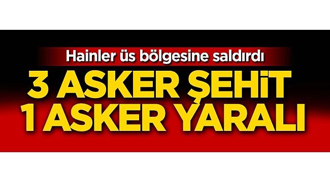 Şırnak'tan acı haber! 3 asker şehit oldu 1 asker yaralandı