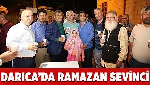 Darıca'da Ramazan sevinci