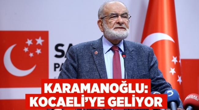 Karamollaoğlu, Kocaeli'ye geliyor