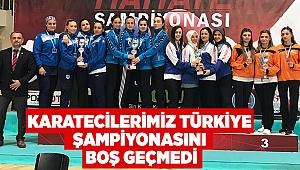 Karatecilerimiz Türkiye Şampiyonasını boş geçmedi
