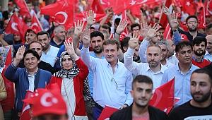 """Demirci, """"Bu Millet Demokrasiye Sahip Çıktı"""""""