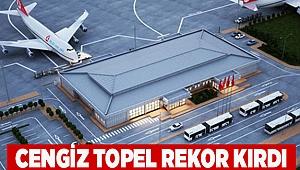 Hiçbir zaman bu kadar uçak kalkmamıştı… Cengiz Topel rekor kırdı!
