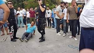 Gebze'de bir kişi bıçaklandı