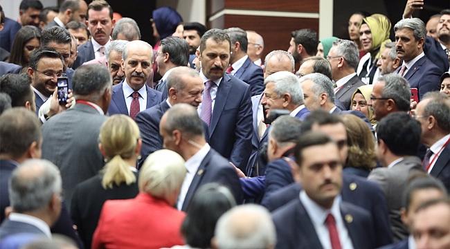 AK Parti Ankara'da…