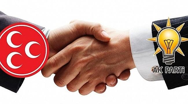AK Parti-MHP ittifak görüşmeleri başlıyor!