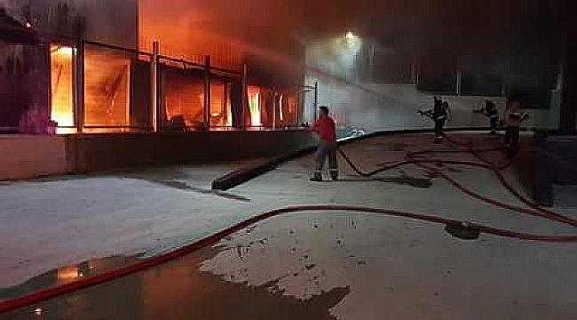 Balçık Köyü'ndeki yangın korkuttu!