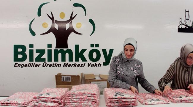 'Bizimköy'de hem üretip hem de kazanıyorlar