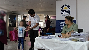 Gebze Belediyesinden öğrencilere anlamlı yardım