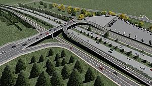 Tuzla - Çayırova bağlantı yoluna 90 metrelik köprü