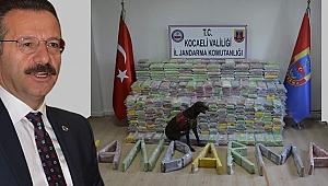 Vali, dev uyuşturucu operasyonunun detayları açıkladı
