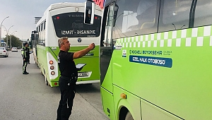 12 halk otobüsüne para cezası!