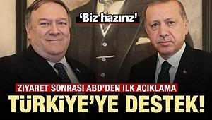 ABD'den Türkiye'ye destek: Biz hazırız