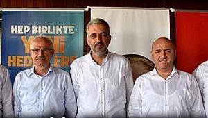 Ak Parti İlçe Başkanları Ankara'ya gidiyor