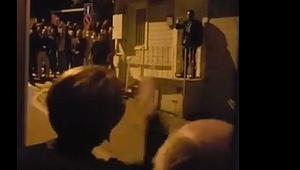 Akşener'in evinin önünde gergin anlar!