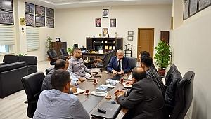 Bursa Büyükşehir heyetine hafriyat hizmetleri anlatıldı