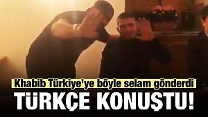 Dağıstanlı dövüşçü Habib Türkçe konuştu
