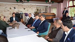 Toltar Dilovası'nın ilk voleybol takımını ağırladı