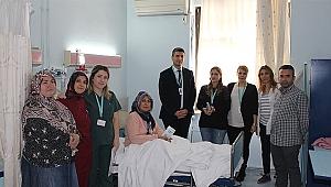 Fatih Devlet hastaları bilgilendirdi
