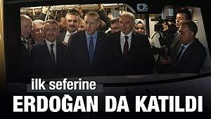 İlk seferine Başkan Erdoğan da katıldı