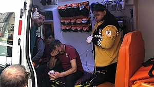 Jeneratör alev aldı: 3 kişi yaralandı