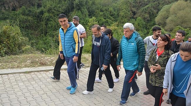 Karaosmanoğlu Dilovası'nda Yürüdü