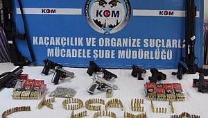 Kocaeli polisinden dev silah operasyonu