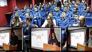 Kocaeli Sağlık Müdürlüğünden askerlere eğitim!