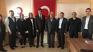 Akbulut'tan Kızılay'a ziyaret