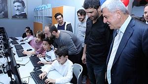 Başkan: ''Çocuklarımız bilimi keşfetsin istiyoruz''