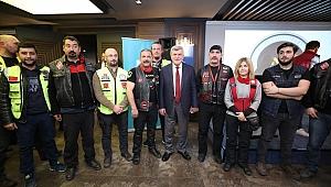 Başkan, Motosiklet Birliği üyeleriyle buluştu