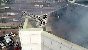 Büyükşehir'de yangın alarmı