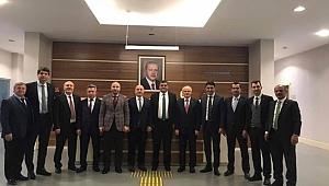 İlçe Başkanları Ankara'da!