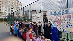 Lösemili çocuklara Gebze'den destek!