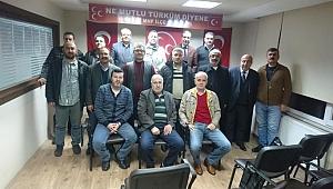 MHP Gebze'de istifalar kabul edildi!
