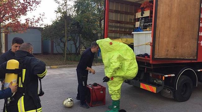TÜBİTAK'taki gaz kaçağı paniğe neden oldu