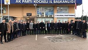 AK Parti'nin başkan adayları yola çıktı