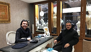 Başkan Köşker Turan'ı ziyaret etti!