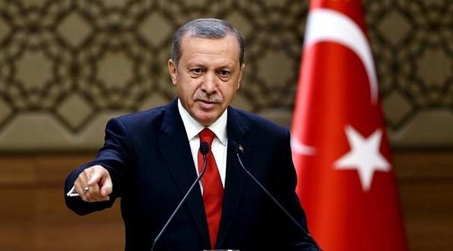 Erdoğan'dan partilerin plastik bayrak asmasına tepki