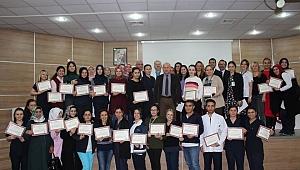 Farabi'de personele teşekkür belgesi verildi!